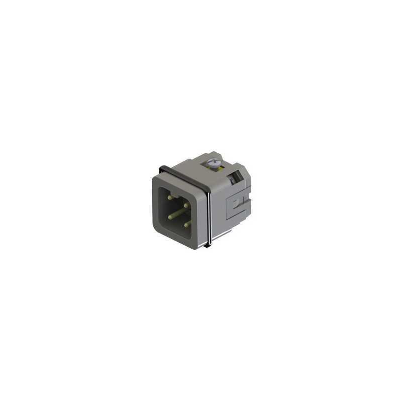EB004CF00 ⟡ Вилка, 4 полюса, 10А