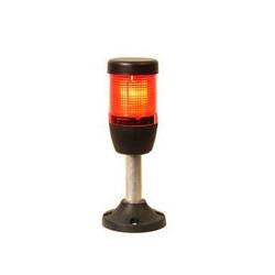 IK51L220XM03 ⟡ Сигнальная колонна Ø 50 мм. Красная 220 V AC, светодиод LED