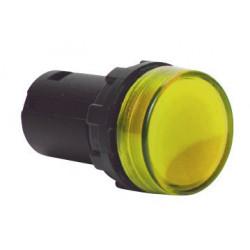 MBSD220S ⟡ Арматура сигнальная моноблочная 230V желтая