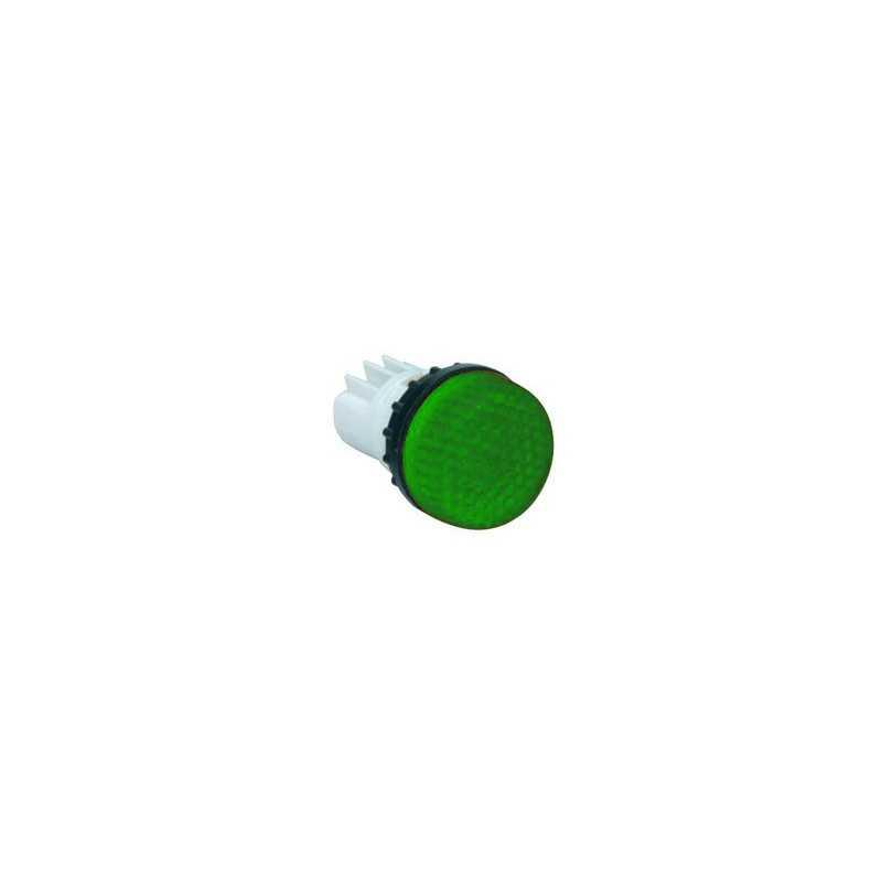 S222Y ⟡ Арматура сигнальная зеленая Ø 22мм