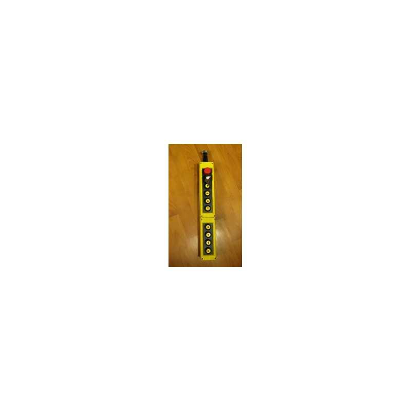 PVK10EA20E30 ⟡ Пульт управления тельфером десятикнопочный с ключом и кнопкой аварийной остановки
