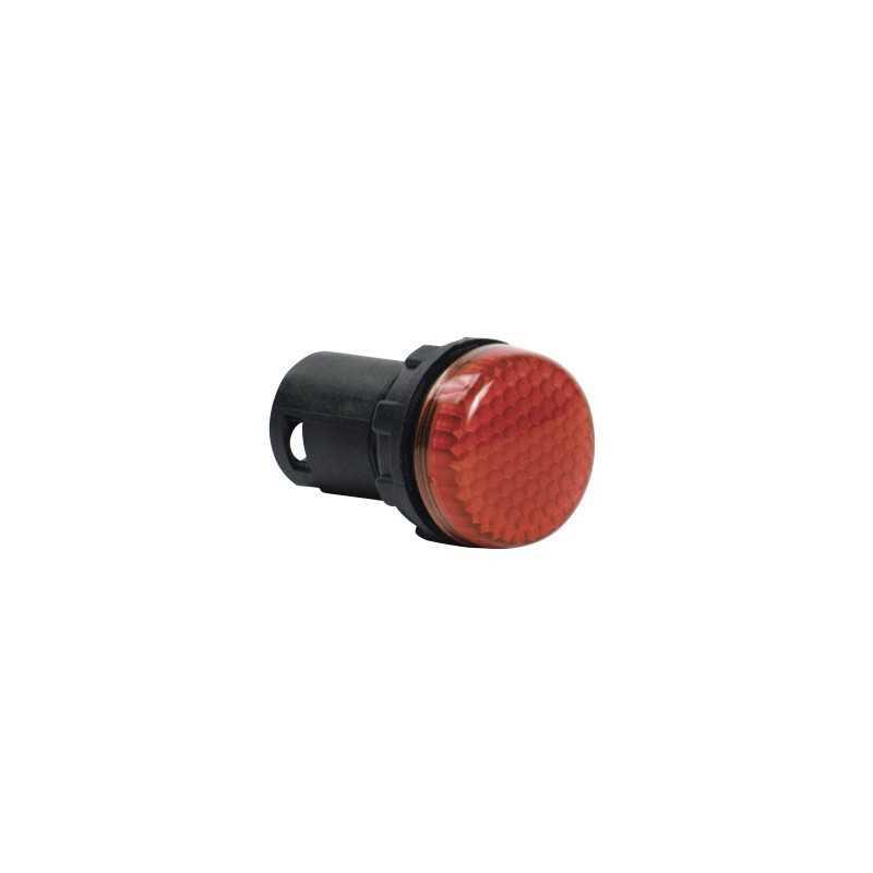 MBSP024K ⟡ Арматура сигнальная моноблочная 24V красная
