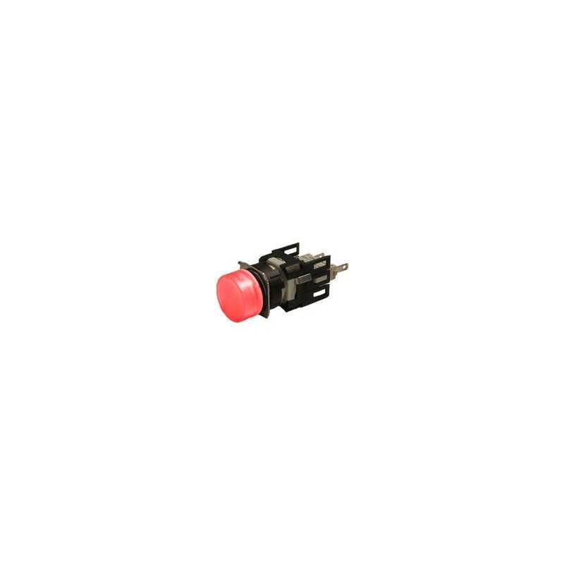 D060YXK ⟡ Сигнальная арматура Ø 16мм круглая красная