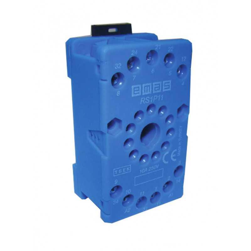 RS1P11M1 ⟡ Релейная колодка синяя