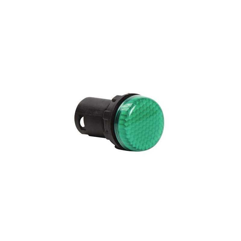 MBSP220Y ⟡ Арматура сигнальная моноблочная 230V зеленая