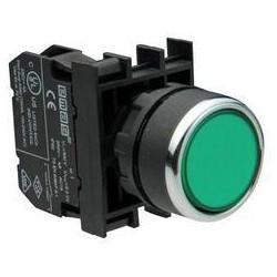 B290DY ⟡ Кнопка со светодиодной подсветкой зеленая