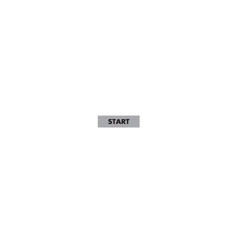 BET08-START ⟡ Шильдик, Табличка «СТАРТ» 8 мм