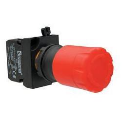 CP200E30 ⟡ Кнопка аварийная Ø 30 мм, включение отжатием, красная