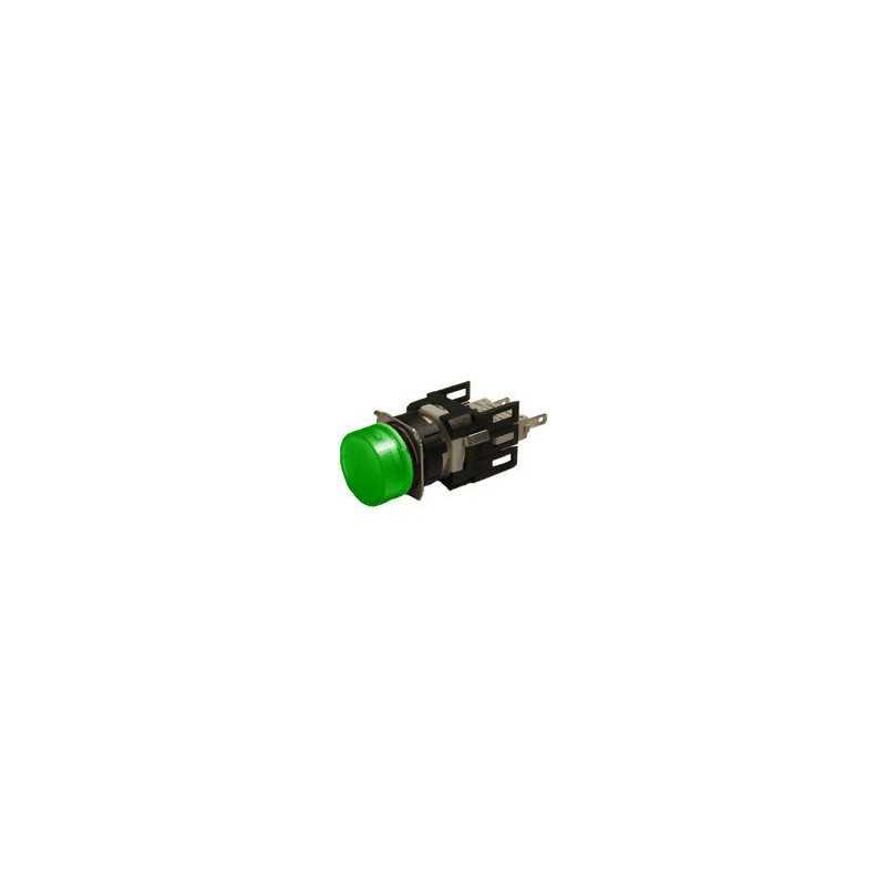 D090YXY ⟡ Сигнальная арматура Ø 16мм круглая зелёная