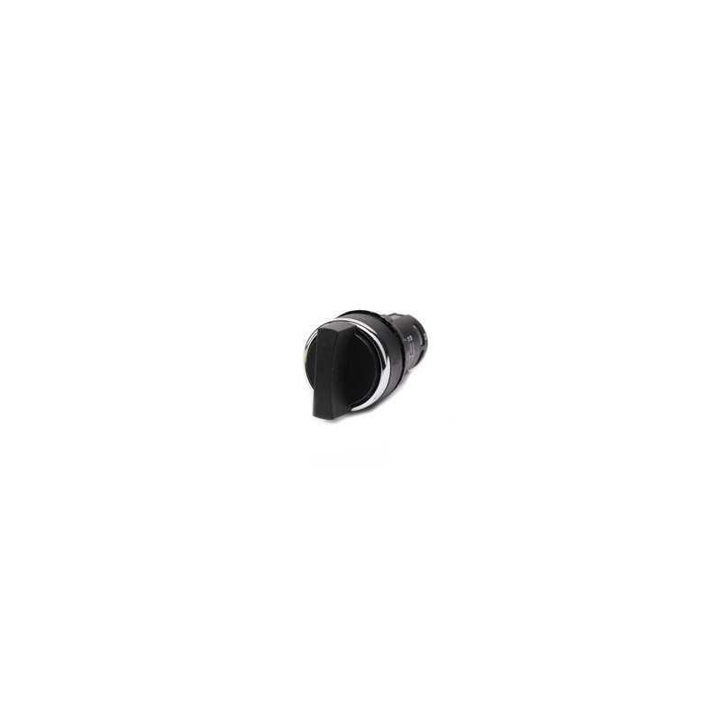 MB100S21 ⟡ Переключатель моноблочный (1НО) с фиксацией (поз. 0-1) 22 мм.