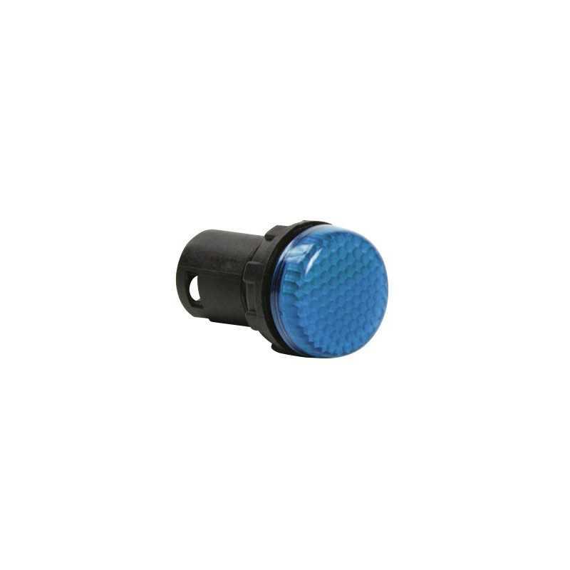 MBSP220M ⟡ Арматура сигнальная моноблочная 230V синяя