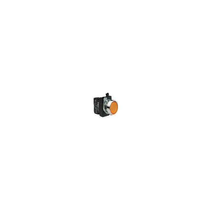 CM180DS ⟡ Кнопка со светодиодной подсветкой желтая (1НО)