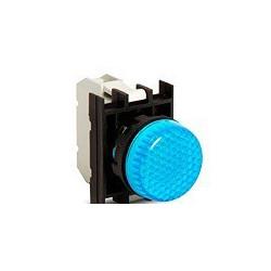 CP0M0XM ⟡ Арматура сигнальная синяя со светодиодом 100-250 В переменного тока