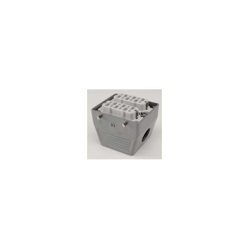 EBM612PU10 ⟡ Розетка, боковой ввод, 12 полюсов, 35А