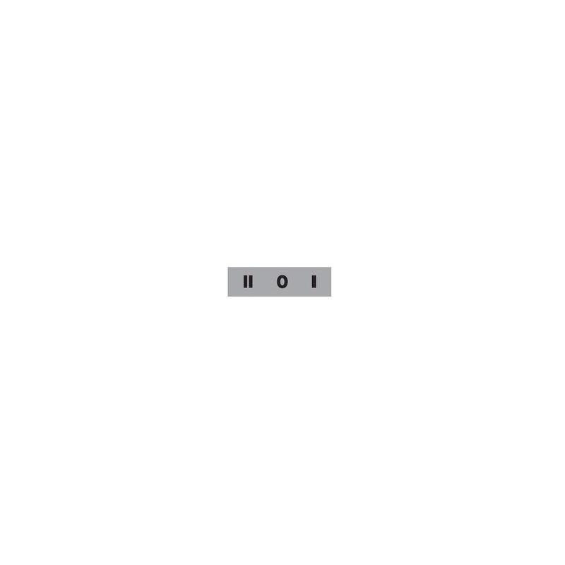 BЕТ08-201 ⟡ Табличка «2-0-1» 8 мм