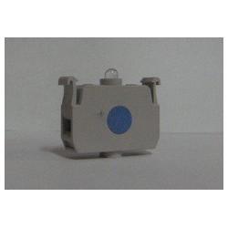 CBM-CKM ⟡ Блок-контакт подсветки с синим светодиодом 100-250 В переменного тока