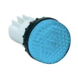 B030XM ⟡ Арматура сигнальная синяя для неоновой лампы (без лампы)