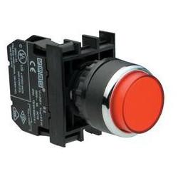 B202HК ⟡ Кнопка выступающая красная (2НЗ)