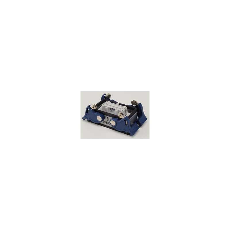 EBM10PM44 ⟡ Розетка низкая, 4-фиксатора, для панели 10 полюсов, 16А