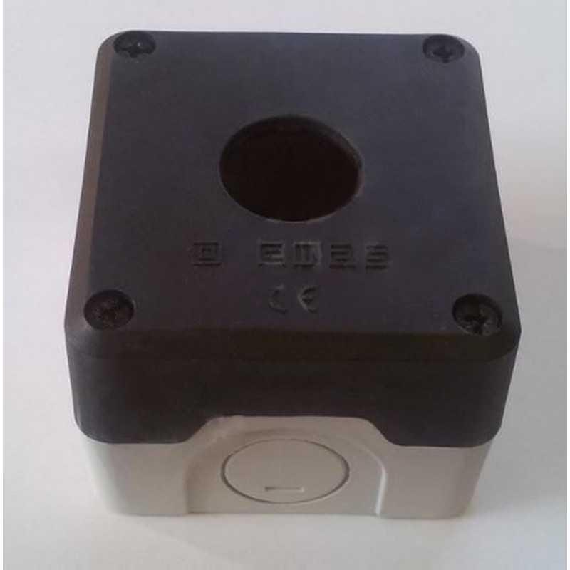 P1BOS ⟡ Кнопочный пост пластиковый пуcтой 1-о кнопочный IP65