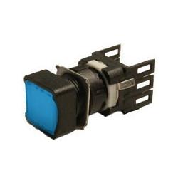 D101KDM ⟡ Кнопка квадратная без фиксации синяя