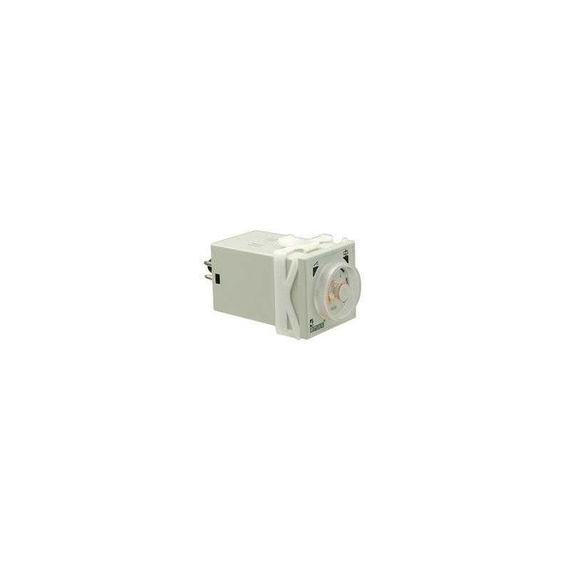 RZ1A1A06M-25 ⟡ Реле времени с задержкой включения 0,6-6 мин 24-220В AC-DC