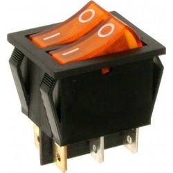 A12S ⟡ Переключатель желтый с подсветкой