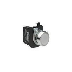 CM1B0DB ⟡ Кнопка со cветодиодной подсветкой белая (1HO)