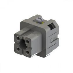 EB004CP00 ⟡ Розетка, 4 полюса, 10А