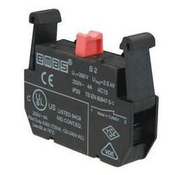 B2 ⟡ Блок-контакт «Стоп» (1НЗ)