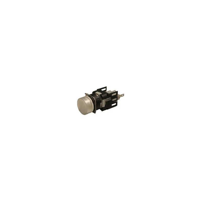 D050YXB ⟡ Сигнальная арматура Ø 16мм круглая белая