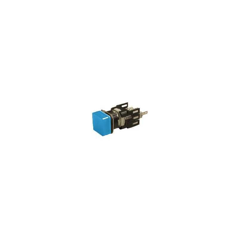 D070KXM ⟡ Сигнальная арматура Ø 16мм квадратная синяя