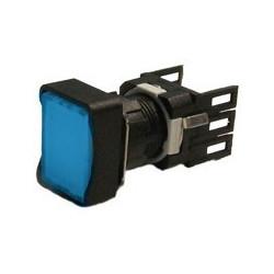 D100DDM ⟡ Кнопка нажимная прямоугольная синяя