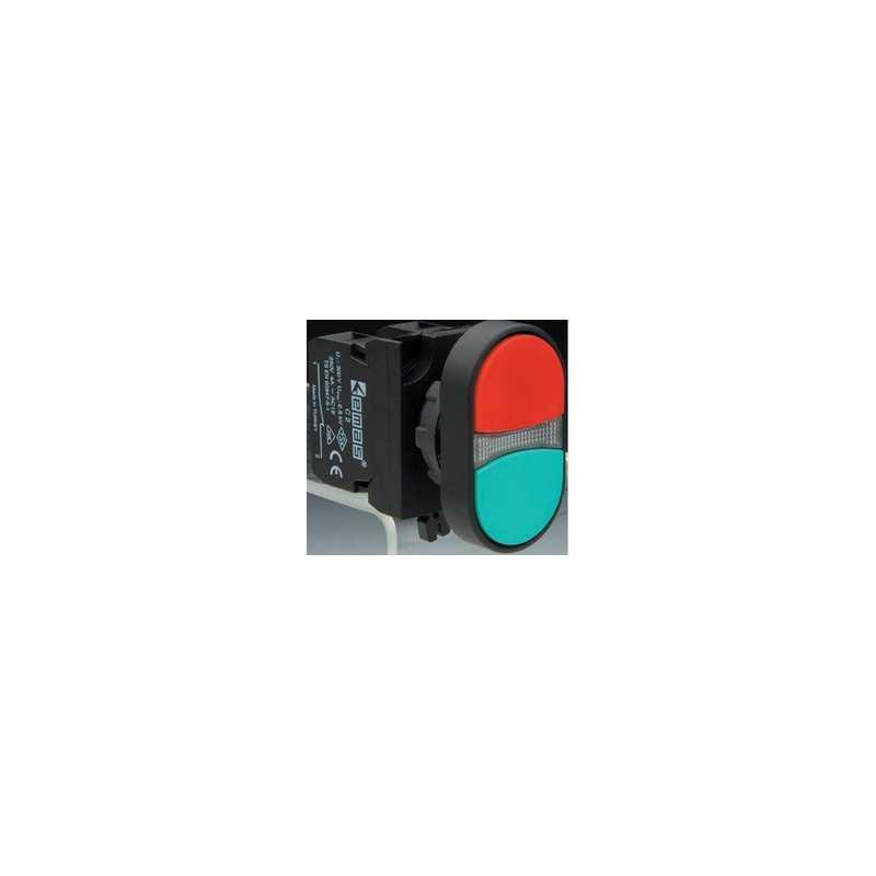 CP102K20KY ⟡ Кнопка сдвоенная серии СР (1НО+1НЗ)