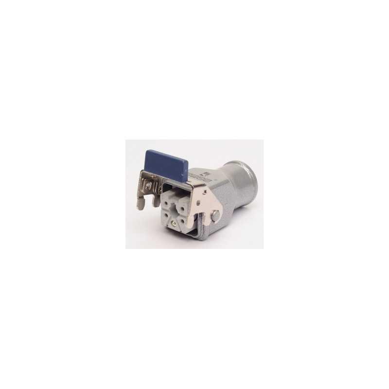 EBM05PM46 ⟡ Розетка для панели 5 полюсов, 10А