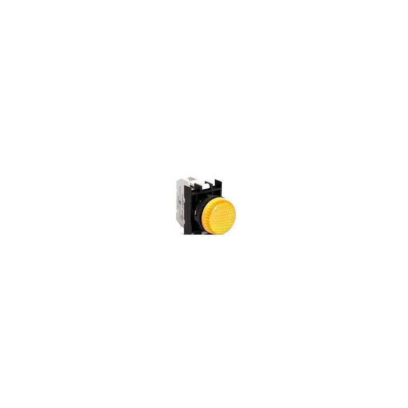 B0S0XS ⟡ Арматура сигнальная желтая со светодиодом 100-200 В переменного тока