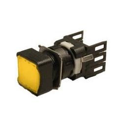 D100KDS ⟡ Кнопка нажимная квадратная желтая