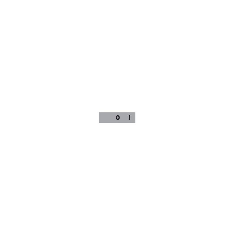 BET08 0-1 ⟡ Табличка «0-1» 8 мм