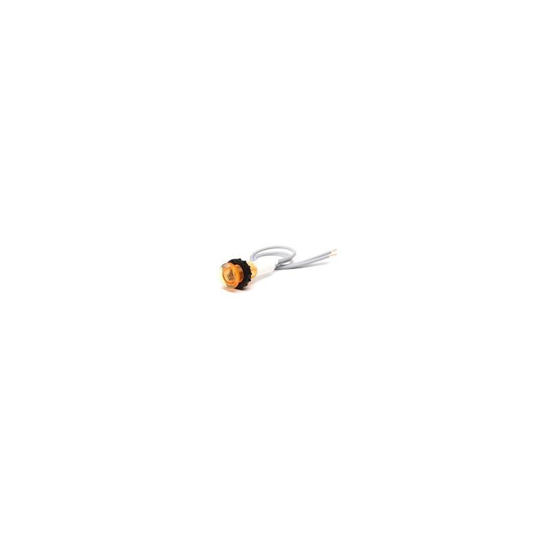 S100S ⟡ Сигнальная арматура 10мм желтая с неон. лампой