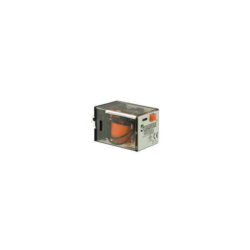 RE1P08AC220 ⟡ Реле на 8 выводов 220 В АС (2 переключающих контакта)