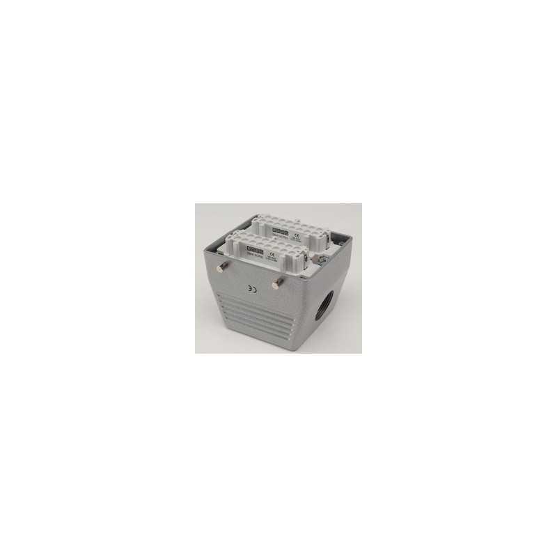 EBM32PU10 ⟡ Розетка, боковой ввод, 32 полюса, 16А