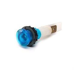 S102M ⟡ Сигнальная арматура 10мм синяя с зажим. MS и с неон. лампой