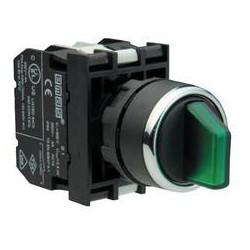 B131SL31Y ⟡ Переключатель с подсветкой неон 2-0-1 с фиксацией в 1 положении