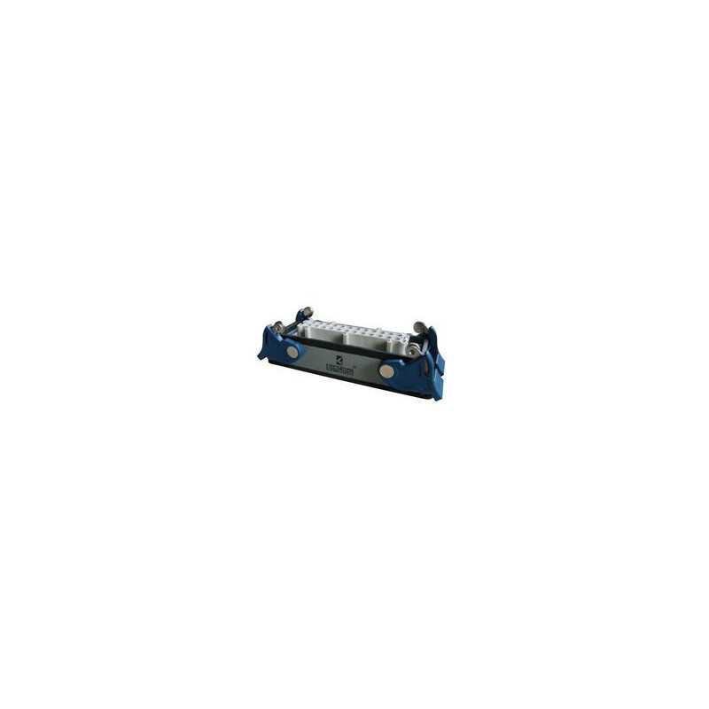 EBM24PM44 ⟡ Розетка низкая, 4-фиксатора, для панели, 24 полюса, 16А