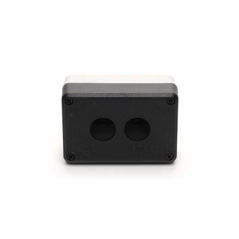 P2BOS ⟡ Кнопочный пост пластиковый пуcтой 2-х кнопочный IP65