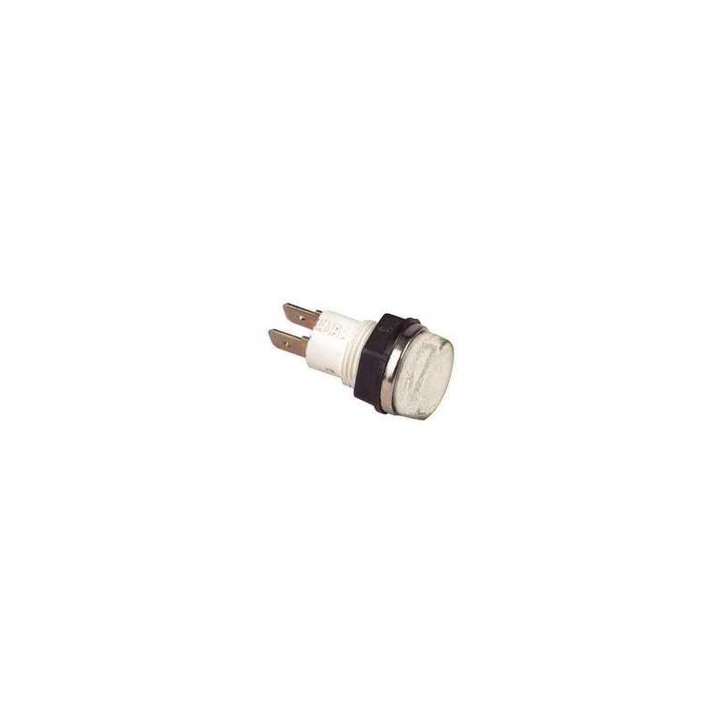 S140B2 ⟡ Сигнальная арматура 14мм белая с лампой 24В