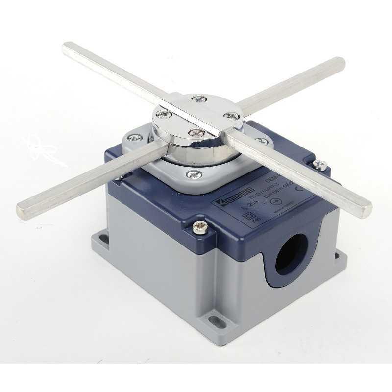 CSM04 ⟡ Перекрестный выключатель в металлическом корпусе