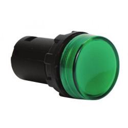 MBSD220Y ⟡ Арматура сигнальная моноблочная 230V зеленая