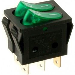 A12Y ⟡ Переключатель зеленый с подсветкой