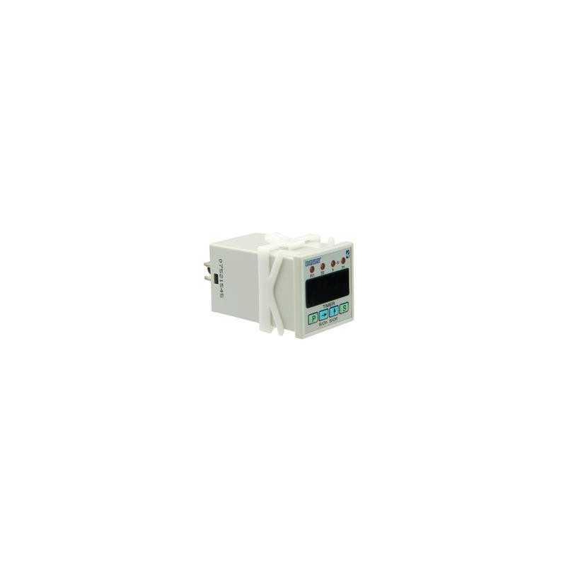 RZ1DIB-5 ⟡ Таймер цифровой с задержкой 0,1с - 99,59ч 220В AC